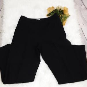 Talbots 100% Wool Black Pants Sz. 12